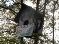 Vogelhaus in der ZAD